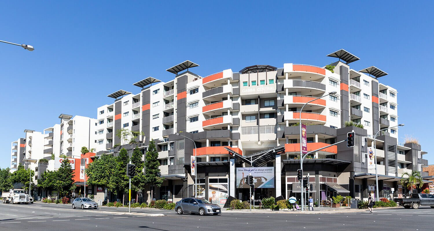 building-exterior | Gabba Central Apartments - Brisbane