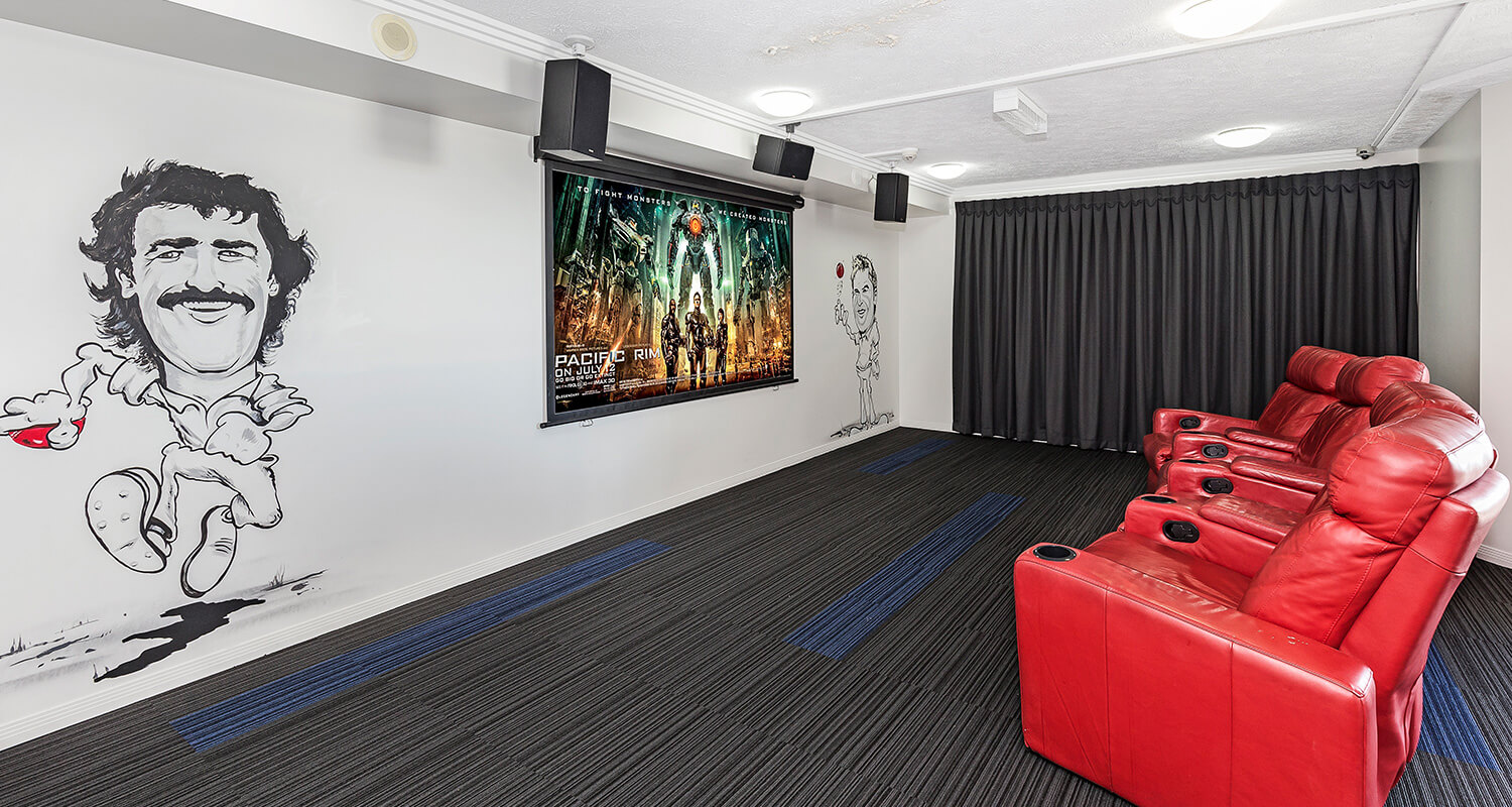 cinema | Gabba Central Apartments - Brisbane