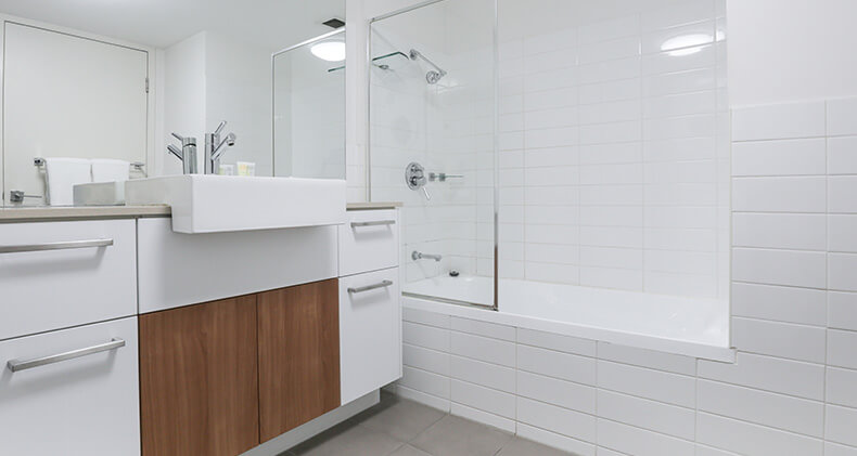 gabba-central-apartments-one-bedroom-bathroom | Gabba Central Apartments - Brisbane