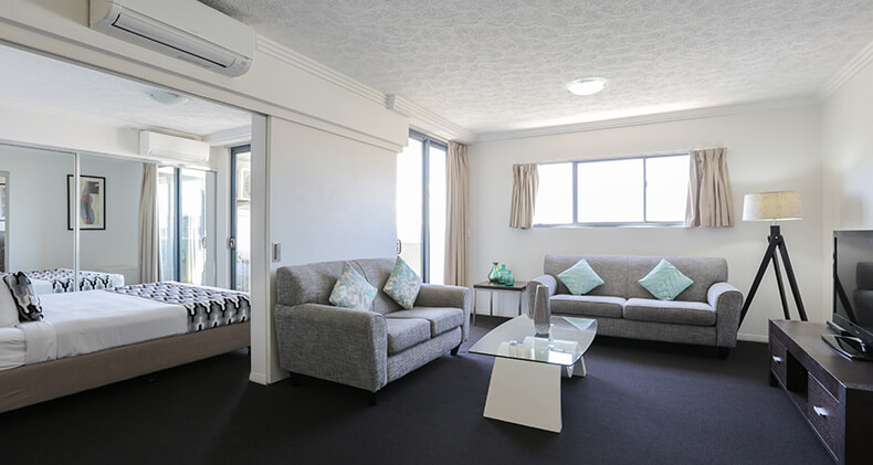 gabba-central-apartments-one-bedroom-dining-living | Gabba Central Apartments - Brisbane