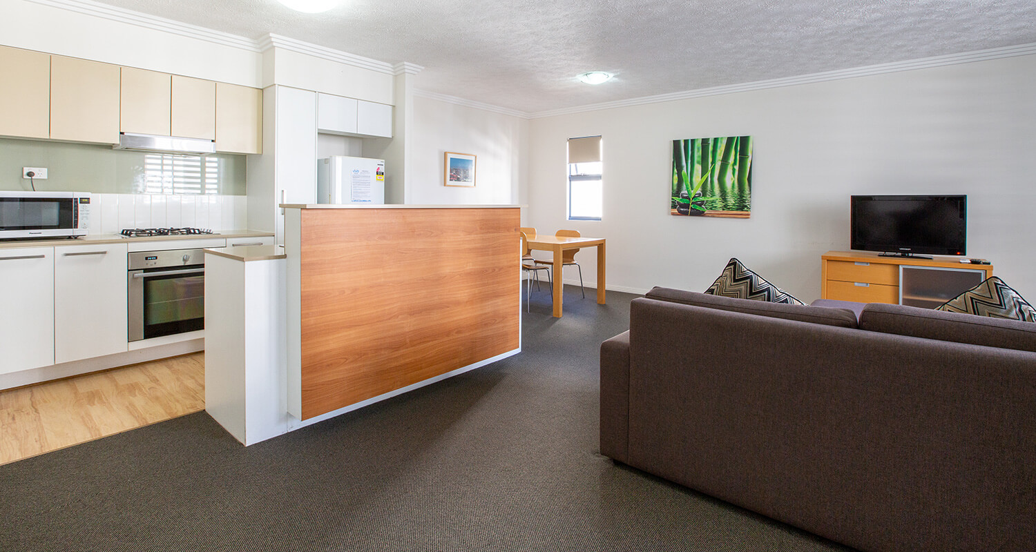 gabba-one-bedroom-accommodation | Gabba Central Apartments - Brisbane