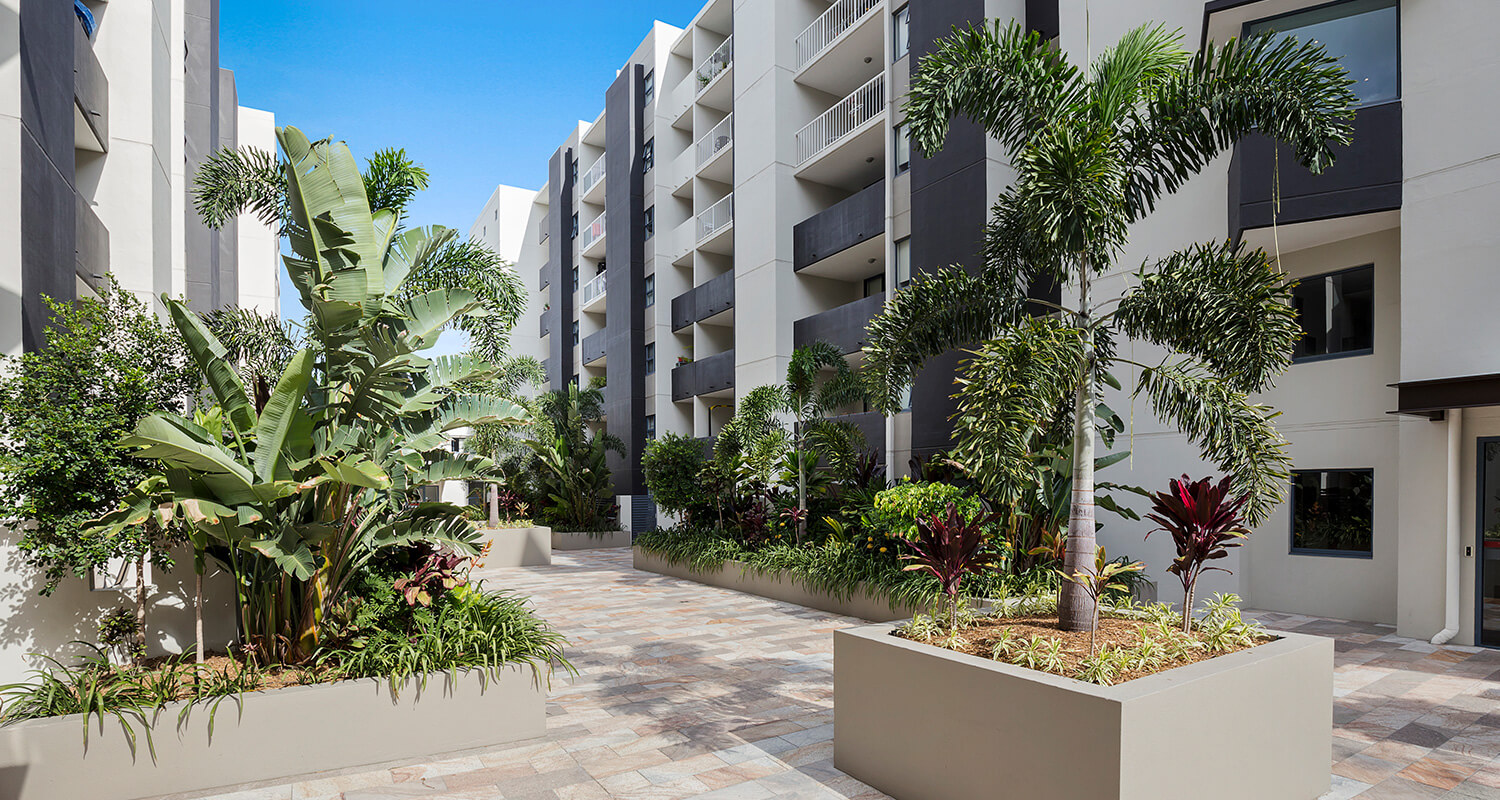 garden | Gabba Central Apartments - Brisbane