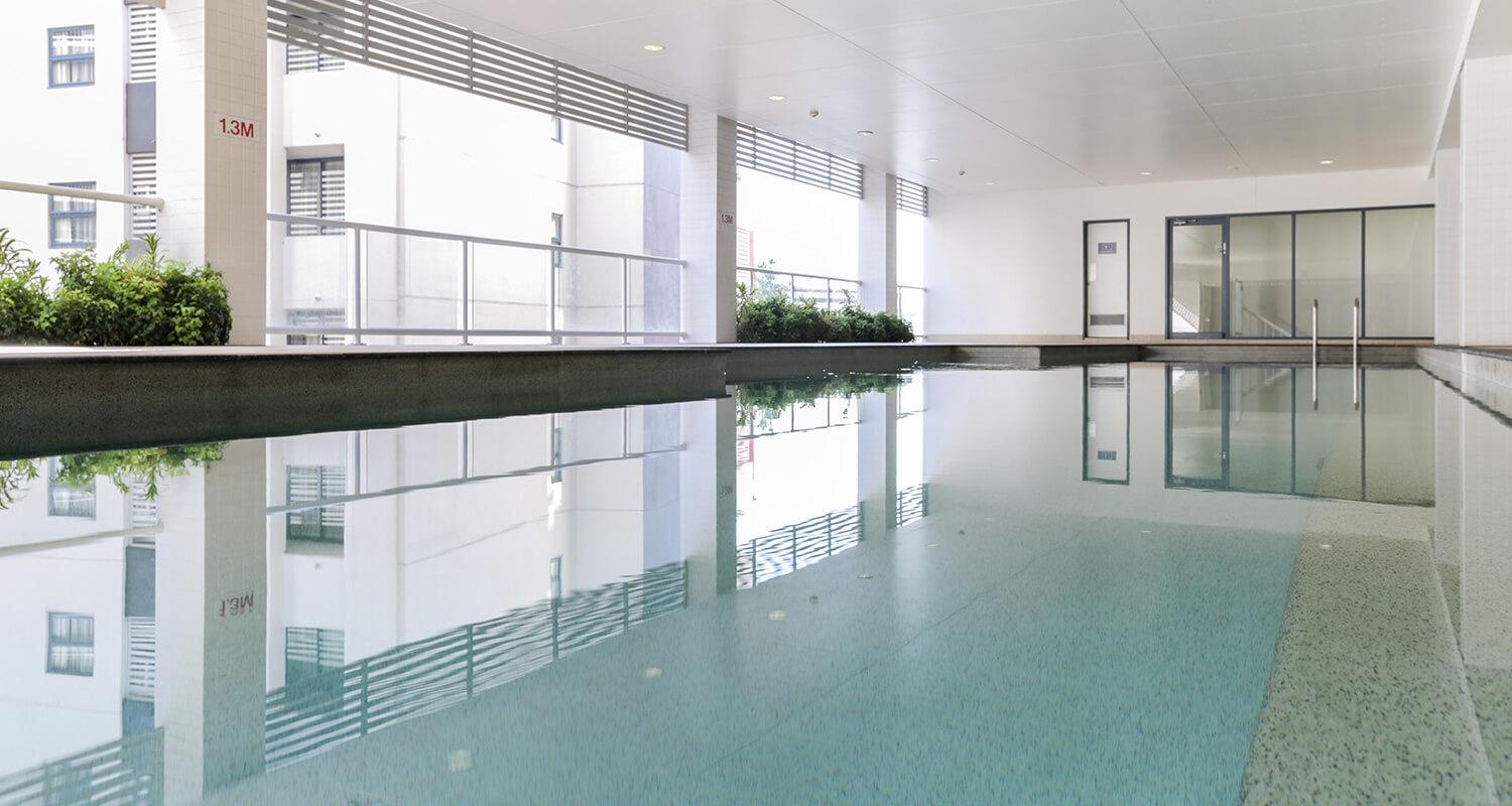 indoor-pool-heated | Gabba Central Apartments - Brisbane