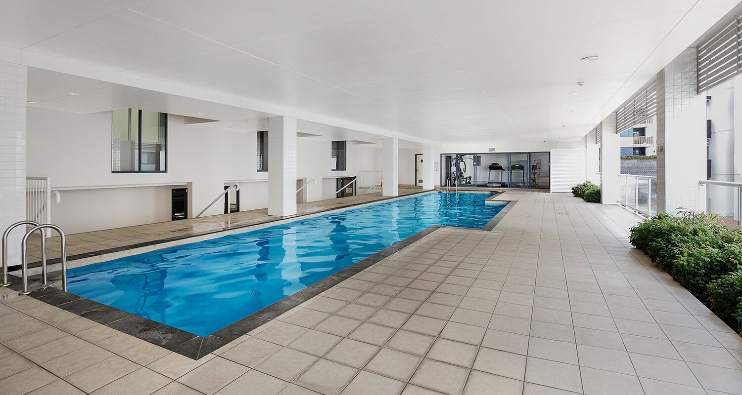 indoor-pool | Gabba Central Apartments - Brisbane