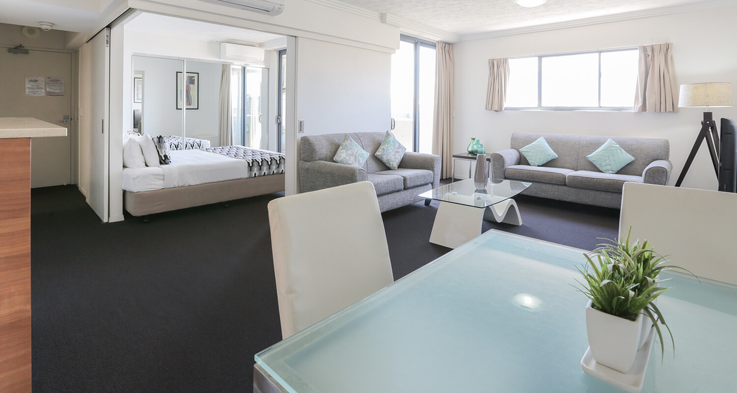 one-bedroom-accommodation | Gabba Central Apartments - Brisbane