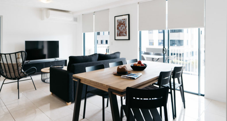 Two Bedroom Apartment | Gabba Central Apartments - Brisbane